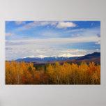 Mount Washington and Presidential Range Snow Folia Poster