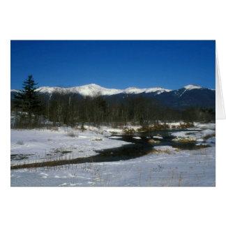 Mount Washington and the Presidential Range Card