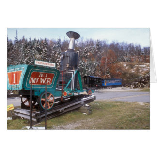 Mount Washington Cog Rail Old Peppersass and New Card