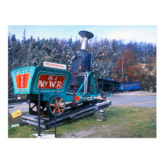 Mount Washington Cog Railway Postcard