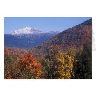 Mount Washington Foliage Card