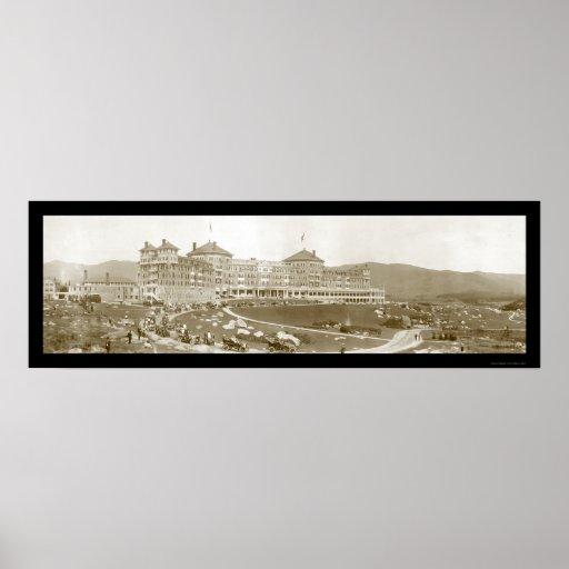 Mount Washington Hotel Photo 1905 Poster