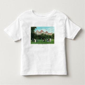 Mount Washington Hotel View of Golf Gallery Tee Shirt