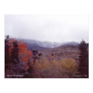 Mount Washington New Hampshire Postcard