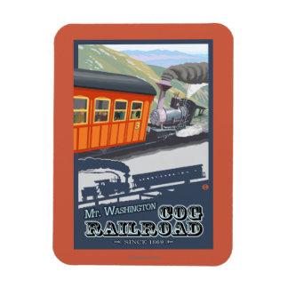 Mount Washington, New HampshireCog Railroad Magnet