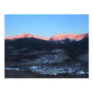Mount Washington over Pinkham Notch Postcard