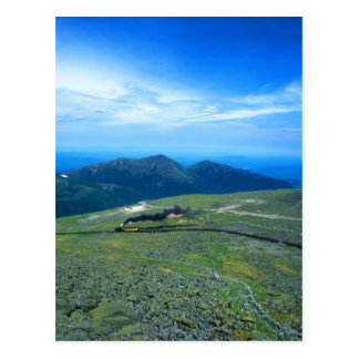 Mount Washington Summit and Cog Railroad Postcard