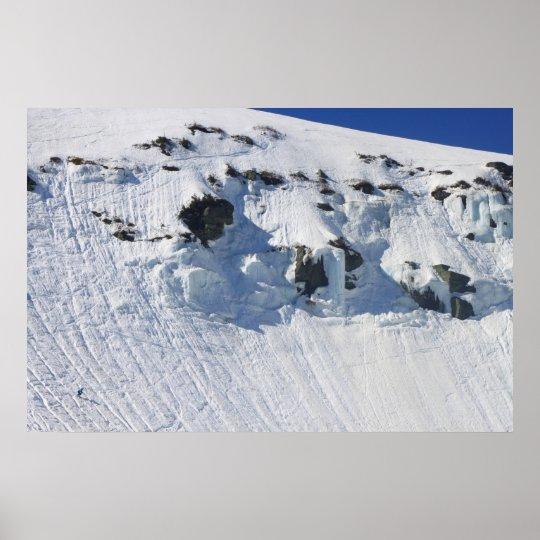 Mount Washington Tuckermans Ravine Skiier Poster