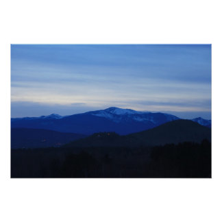 Mount Washington Twilight Poster