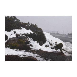 MOUNT WELLINGTON HOBART TASMANIA CANVAS PRINT