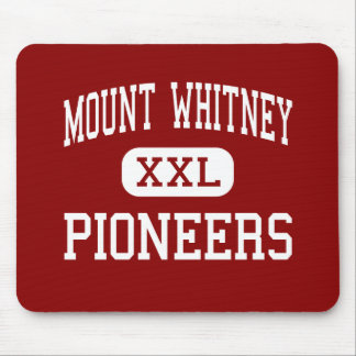 Mount Whitney - Pioneers - High - Visalia Mouse Pad