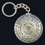 "Mount Whitney Summit Benchmark Keychain<br><div class=""desc"">Mount Whitney Summit Benchmark</div>"