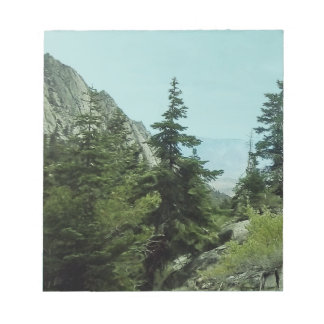 Mount Whitney Trail View Memo Pad#5 Notepad