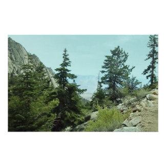 Mount Whitney Trail View Paper #5-by Fern Savannah Stationery Paper