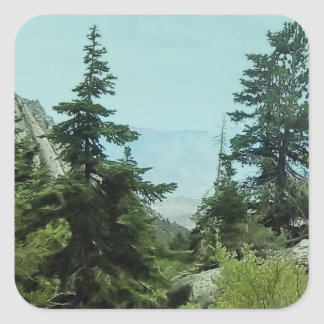 Mount Whitney Trail View Stickers #5