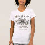 Mount Zion First African Baptist Church Tee Shirt