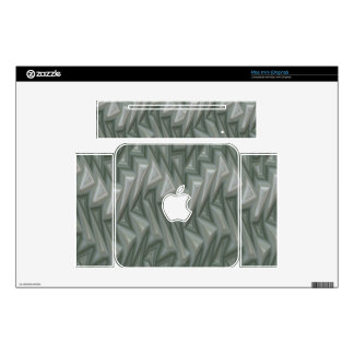 Mountain abstract design skin for mac mini