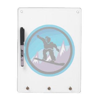 Mountain Air Dry Erase Board