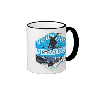 Mountain Air Patrol Ringer Coffee Mug