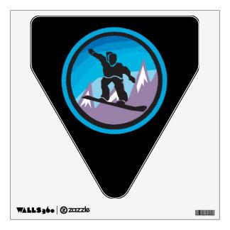 Mountain Air Wall Sticker