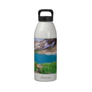 Mountain Alpine Tranquility Olympic Park Drinking Bottle