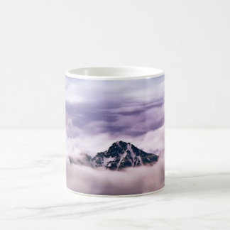 Mountain and clouds. Beautiful nature scenery Mug