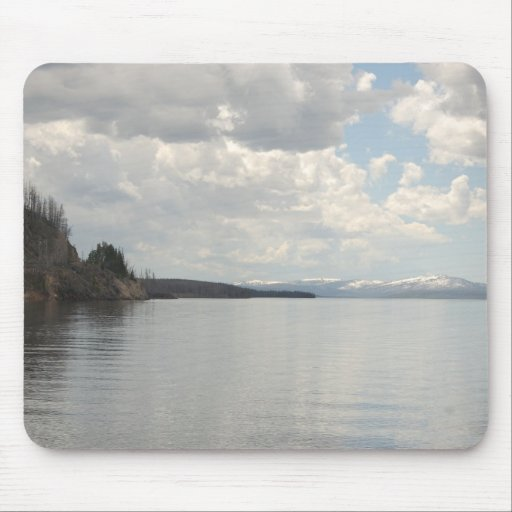 Mountain and Lake Mouse Pad