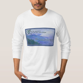 Mountain and nature T-Shirt