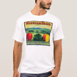 Mountain Apple Crate LabelHood River, OR T-Shirt