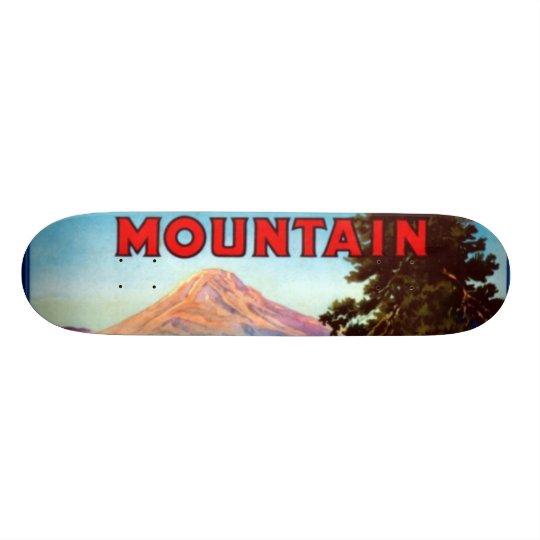 Mountain Apples Portland Oregon Skateboard