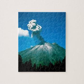 Mountain Arenal Erupting Costa Rica Jigsaw Puzzles