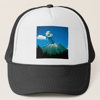 Mountain Arenal Erupting Costa Rica Trucker Hat