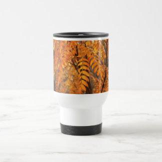 Mountain Ash Leaves - Autumn Coffee Mugs