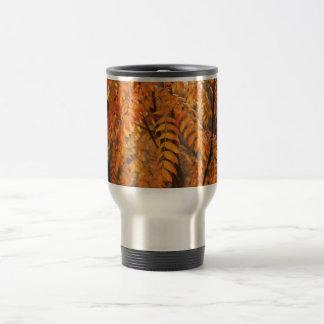 Mountain Ash Leaves - Autumn Mug