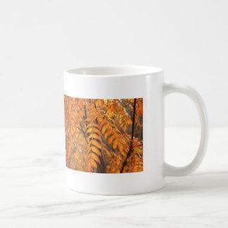 Mountain Ash Leaves - Autumn Mugs