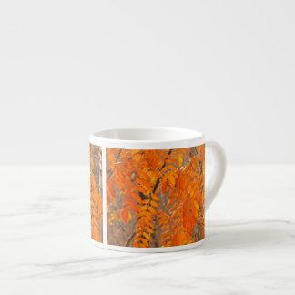 Mountain Ash Leaves in Autumn Espresso Mug