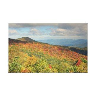 Mountain Autumn Canvas