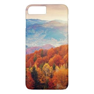 Mountain autumn forest landscape iPhone 7 plus case