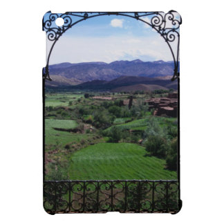 Mountain balcony scenic view iPad mini cases