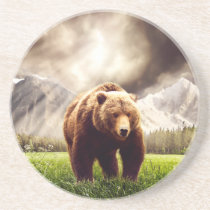 Mountain Bear Drink Coaster