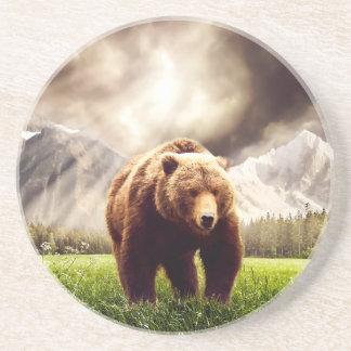 Mountain Bear Drink Coaster
