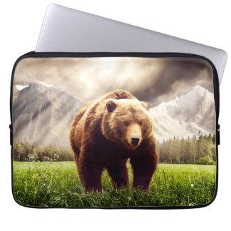 Mountain Bear Laptop Sleeve