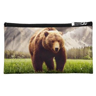Mountain Bear Makeup Bag