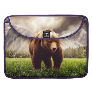 Mountain Bear Sleeve For MacBook Pro