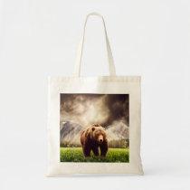 Mountain Bear Tote Bag