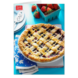 Mountain Berry Pie Card