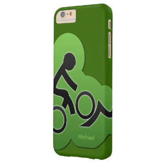 Mountain Bicycle Biker Barely There iPhone 6 Plus Case
