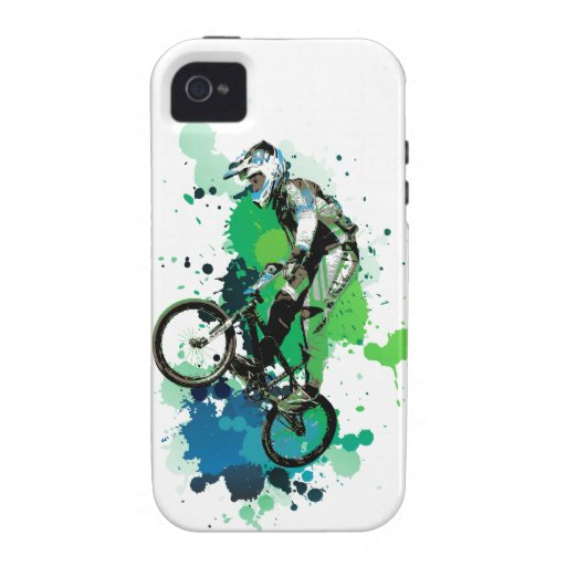 Mountain bike art Case-Mate iPhone 4 case