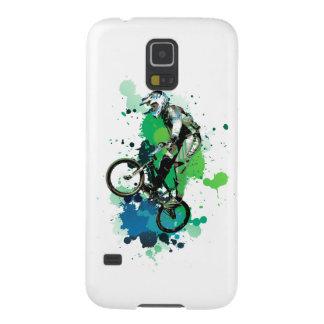 Mountain bike art galaxy s5 cover