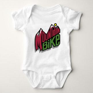 Mountain Bike Baby Bodysuit